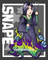 Snape chibi by jurijuri