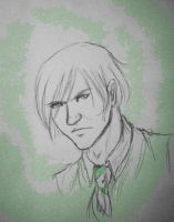 The Malfoy Scowl - Scorpius by TheOddGod