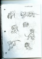 A Rat into the Wild Sketchdump 9 by Dinoboy134