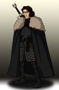 Lord Snow by immilesaway