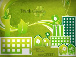Think Green by Zeerooh