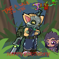 Happy birthday buddy (Omgega squad Teemo) by terceljr