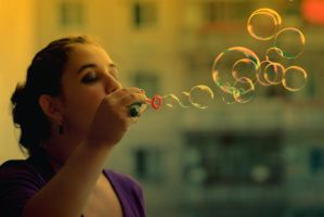 bubbles by magentaseaside
