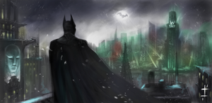 Batman by LudvikSKP