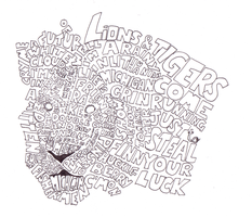 Red hot chill peppers - lion by andy15140