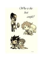 Chibi Fairy Tail couples by Jessuanny