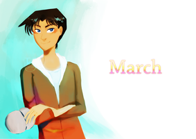 March-Heiji Hattori by tea52