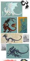 Mostly Dragons by Aazure-Dragon