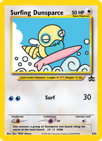 Surfing Dunsparce Jumbo Card by Karite-Kita-Neko
