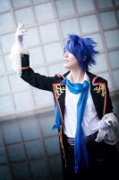 Sandplay of the Dragon - KAITO by roxwindy
