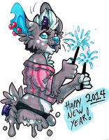 Happy.New.Year.2014::..+ by Uriko44