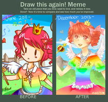 Meme: Before and After by naomiyasmine