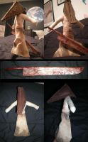 Pyramid Head plushie by jameson9101322