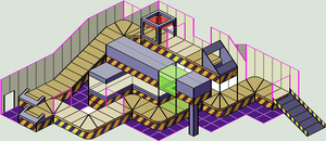 Emote Factory Interior WIP by Wooded-Wolf