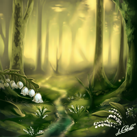 Lily of the valley by noebelle