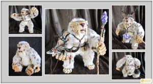 Sabertooth Spirit Doll by LimitlessEndeavours