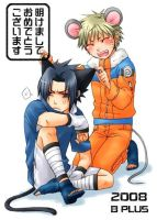 cat and mouse Sasunaru by SasuXnaru05