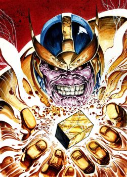 Thanos by stockyboy