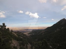 Boulder from Flagstaff Mountain 2 by Collidoscope