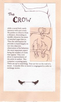 Crow, from the Compendium by teriathanin