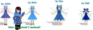 What Cirno should I download? by Ame-Yuki