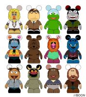 Muppet Vinylmation Series 3 by mbaboon