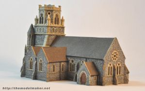 irish church model view 2 by artmik