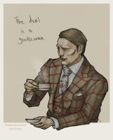 Hannibal : Hannibal Lecter : Devil is a Gentleman by 666solitaryman