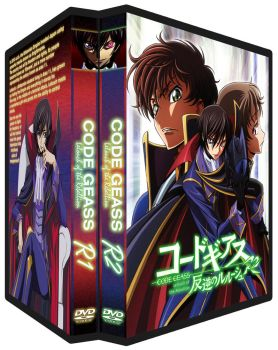 Code Geass DVD covers by mynameisunique