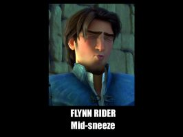 Flynn Rider mid sneeze by f4113n-4ng31-0f-r4in