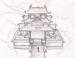 Temple sketch by Greg-M