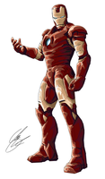 Iron Man by re-coil