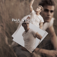 Paul Wesley - PHOTOPACK PNG by DrugsEverywah