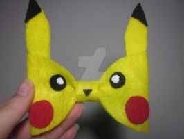 Pikachu Hairbow by Darklunax110