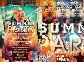 party summer psd by ultimateboss