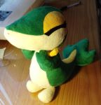 Snivy WIP by d215lab