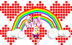 MMD-Double Rainbow DL by Shioku-990