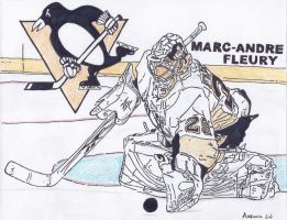 Pittsburgh Penguins Fleury by DreamWeaver-1990