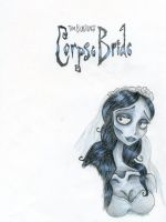 The Corpse Bride by kalizin