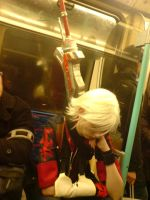 Nero on the Underground... O_o by ruuwolf