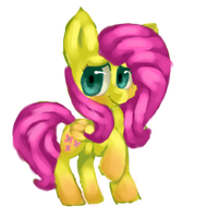 Fluttershy by MintyShower