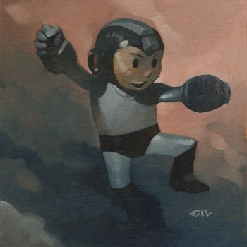 Mega Man by ChristopherStevens