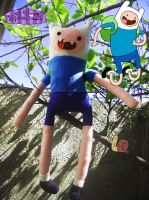 Finn The Human Plush by Dollface-RYJ