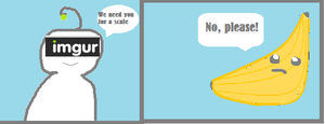 {Quick Comic]Banana for scale by ArtMaker333