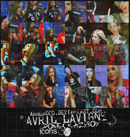 Avril icons 30 by ArNoBoOo