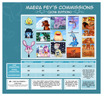 Commissions Are: OPEN by MaeraFey