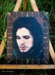 Jon Snow Framed by DreamWarrior
