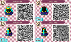 Animal Crossing New Leaf - Anna's dress by JackFrostOverland