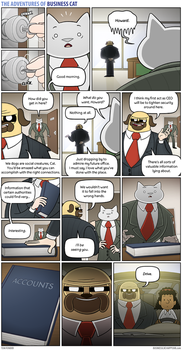 The Adventures of Business Cat - Cloak and Dagger by tomfonder