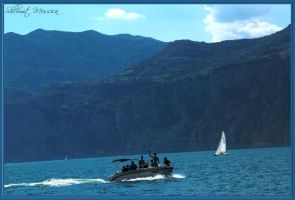 Sailing on lake Garda 3 by ShlomitMessica